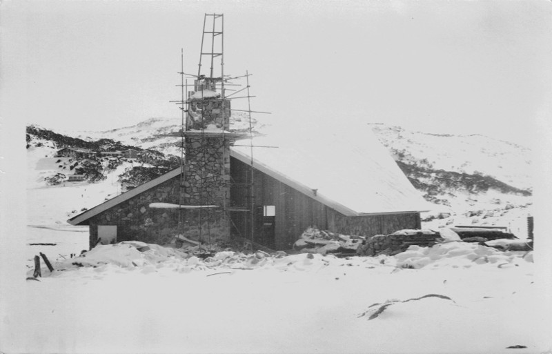 Church Construction (Postcard), Date Unknown