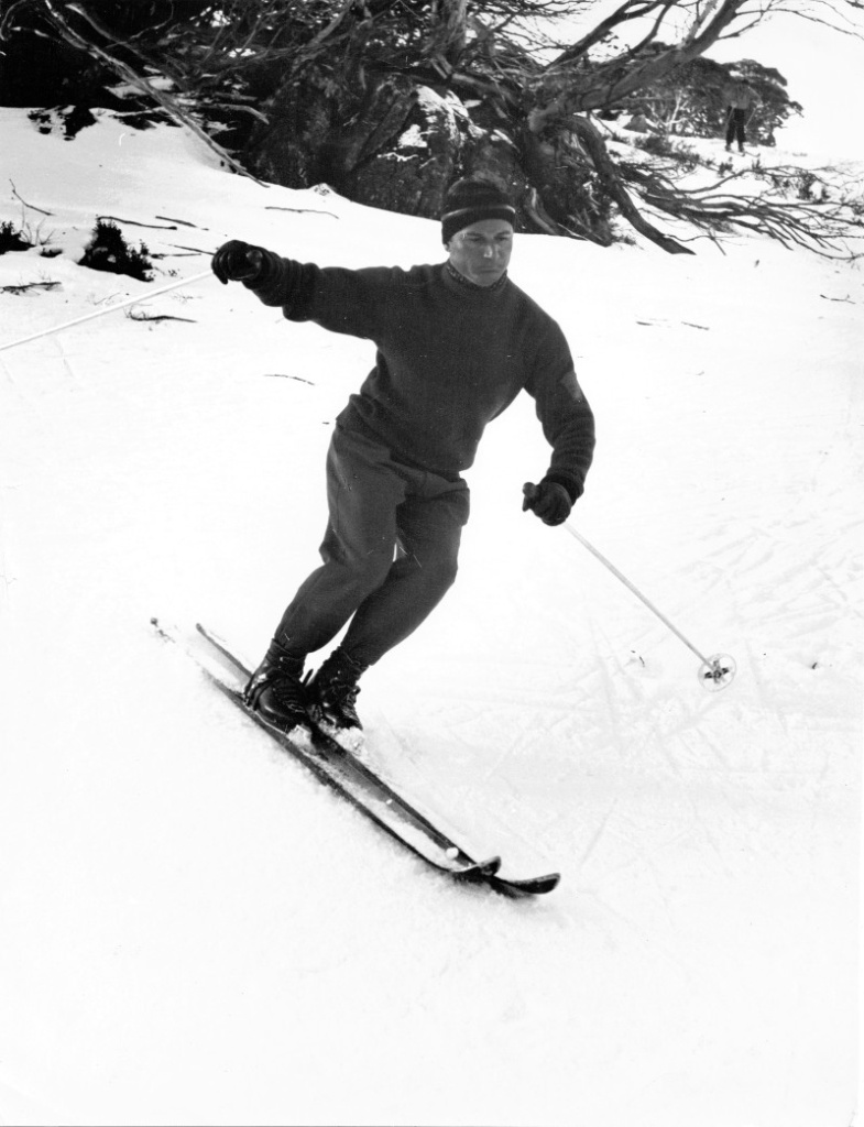 Henri de Vouassoux was a Frenchman who taught the Emile Allais method at the North Perisher Tow Hut in 1959 and also did some instruction at Guthega on weekends.