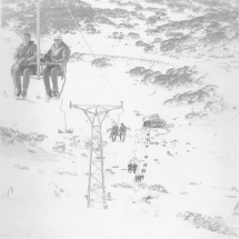 Chairlift at Perisher
