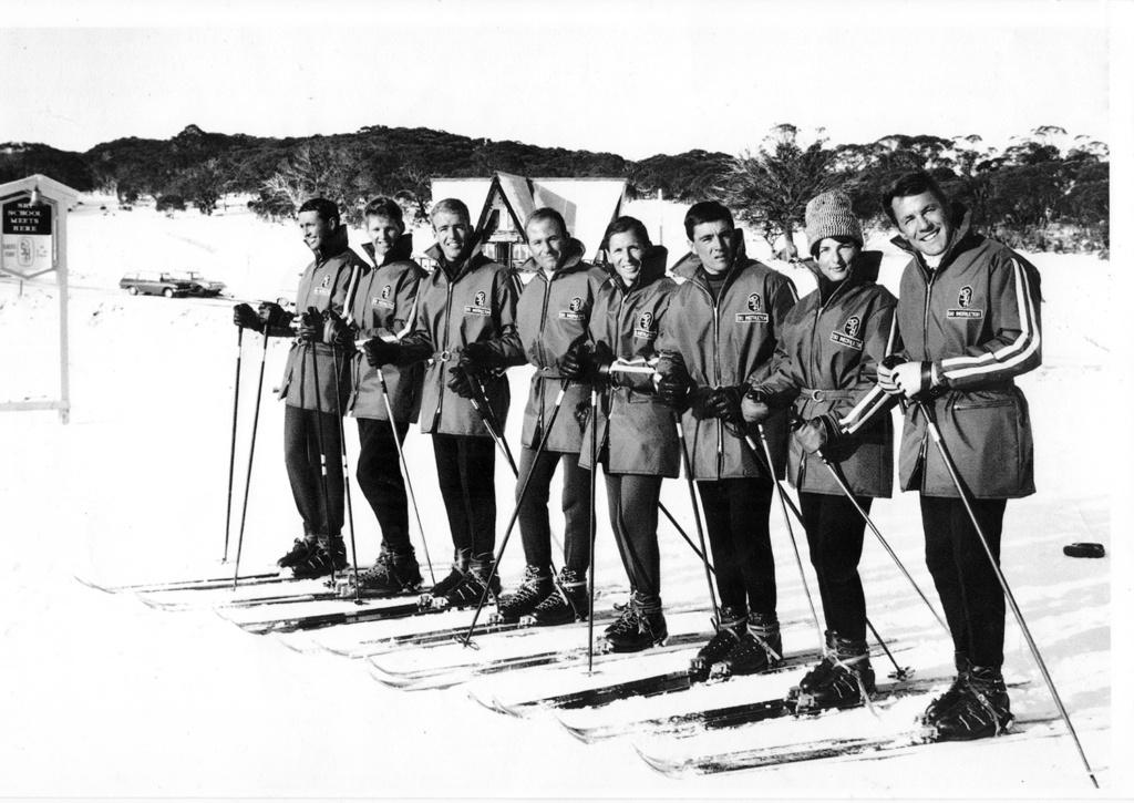 Smiggins Ski School 1964