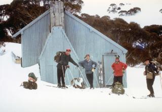 Mawsons Hut 1960s