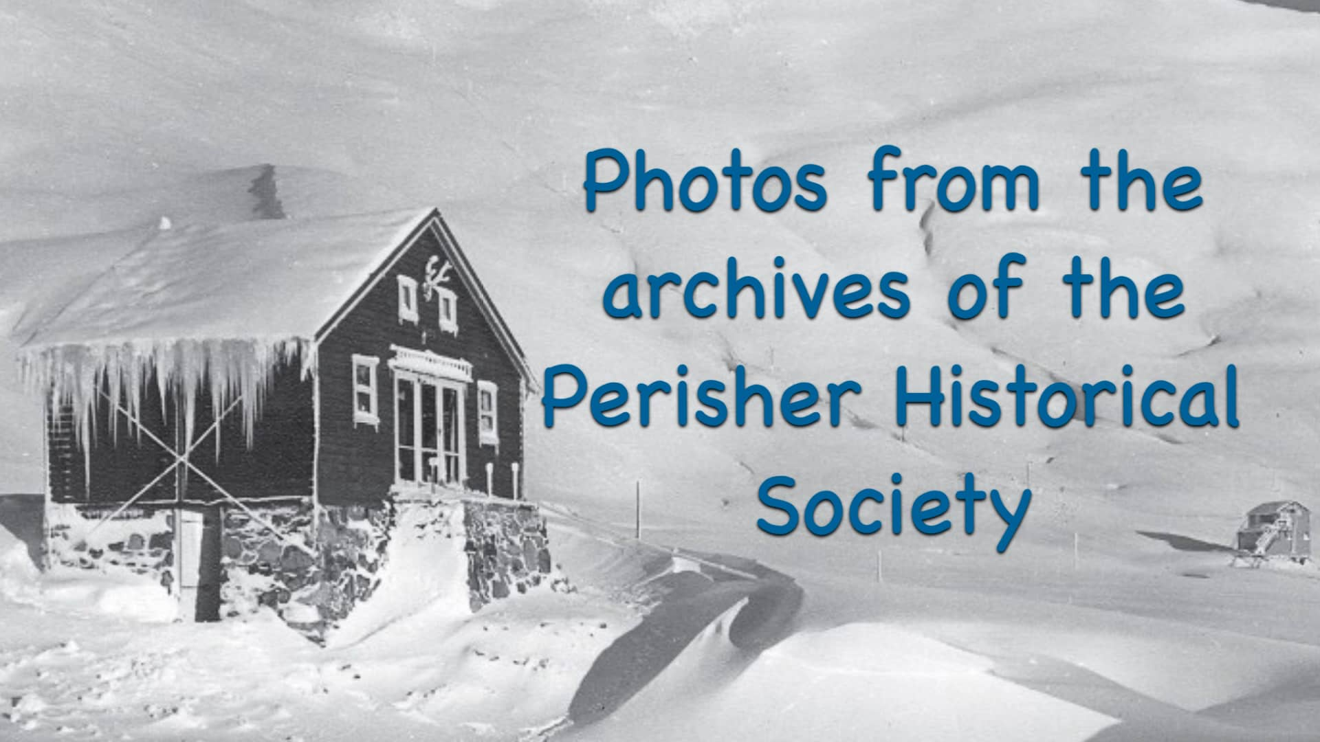 Photos from the archives of the Perisher Historical Society